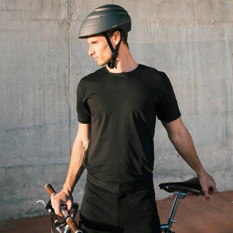 Hopfällbar cykelhjälm Loop, miljö