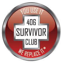 Hi-res image - ACR Electronics -  SurvivorClub logo