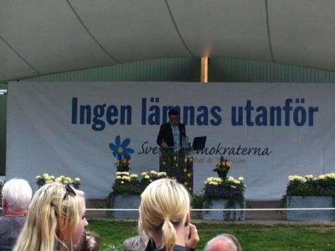 Talanalys Jimmie Åkesson