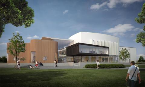Sjöängen, ett nytt kultur- och kunskapscentrum i Askersund