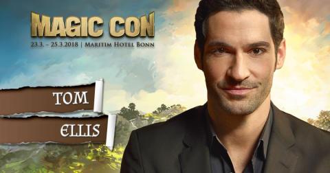 MagicCon 2018: Lucifer-Hauptdarsteller Tom Ellis erstmals auf deutscher Con