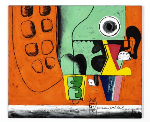 """Le Corbusier: """"20 heures, arrivée à Chandigarh"""" (1959)"""