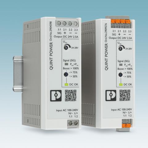 Kompakt og kraftig strømforsyning