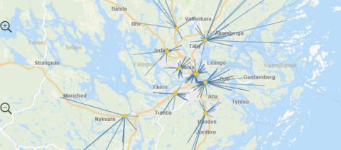 Qlear utvecklar en avancerad applikation med geografisk analys till Sova