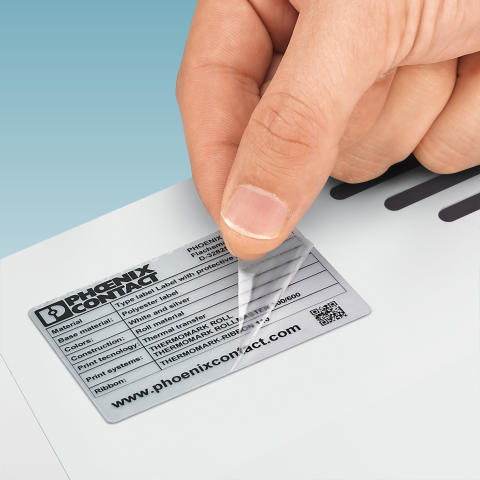 Labels with protective laminate