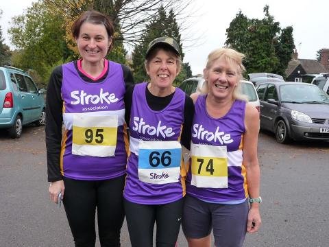 ​Stroke Association urges runners in Swindon to make a resolution that counts