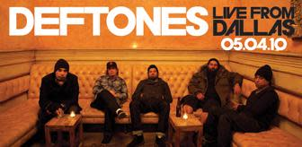 Deftones sänder livekonsert på webben för att fira releasen