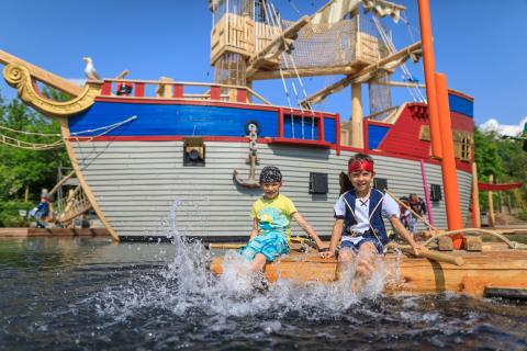 Piratenschiff im PLAYMOBIL-FunPark