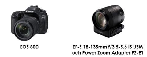 Släpp loss kreativiteten med nya EOS 80D och  EF-S 18-135mm f/3.5-5.6 IS USM