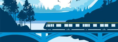 Klart besked – Norrbotniabanan till Skellefteå börjar byggas inom ett halvår