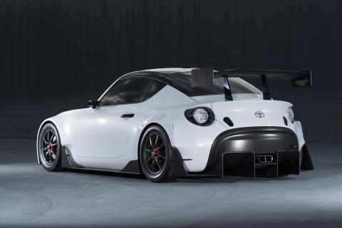 Toyotas konceptsportbil för banracing