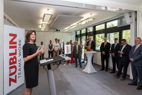 Ilse Aigner zu Gast bei der Direktion Bayern