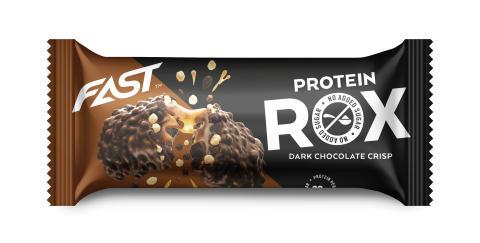 Proteinbar ROX Mörkchoklad Crisp 55g
