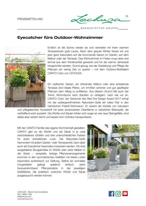 Eyecatcher fürs Outdoor-Wohnzimmer