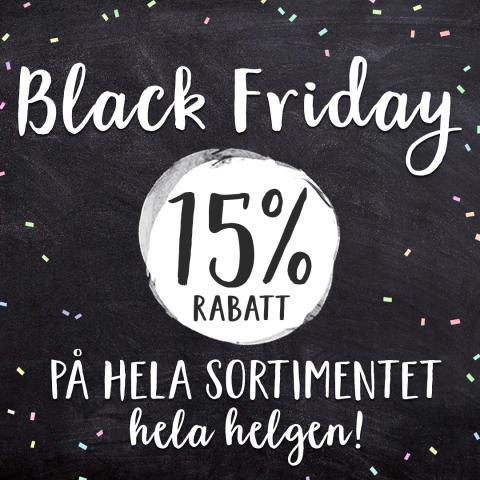 Snart Black Friday!
