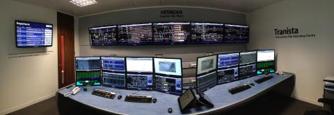 Hitachi Traffic Management System - model office