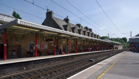 ANPR at Oxenholme station is wheeled out by Virgin Trains