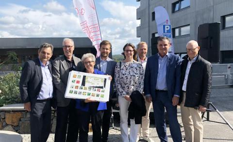 Brf Viva i Göteborg är nu officiellt invigd