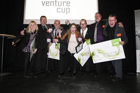 Venture Cup Nords vinnare är korade. Två av fyra kommer från Luleå