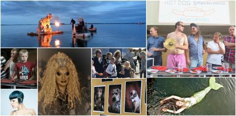 Ærø Dog Days 2018 - kunst-, litteratur-, og musikfestival på Ærø