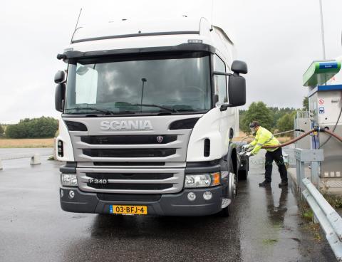 Scania Opticruise til gaslastbiler