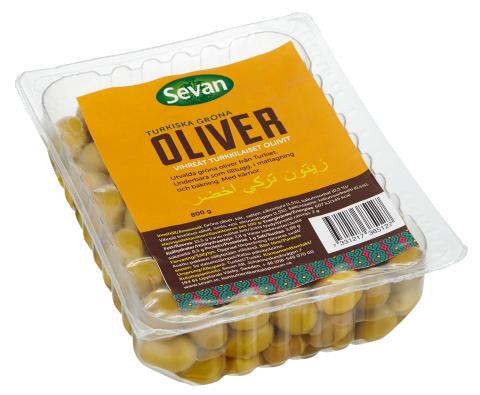 Gröna oliver