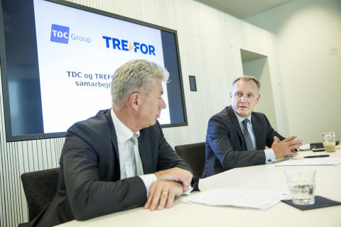 TDC og TREFOR i strategisk samarbejde på fibernet - TDC Group