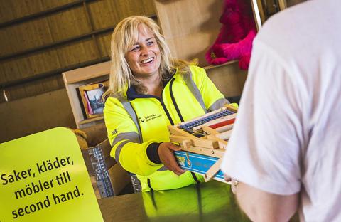 Nytt återbruk i Hofors invigs med gofika