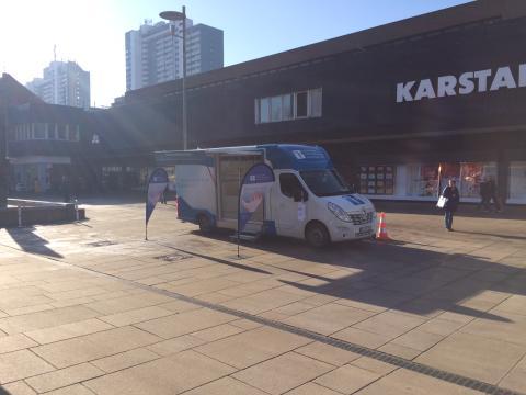 Beratungsmobil der Unabhängigen Patientenberatung kommt am 6. November nach Bremerhaven.