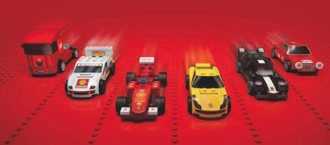 LEGO Ferrarier