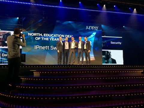 Juniper Education Deal of the Year 2015