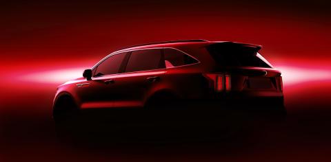 kia mq4 teaser rear red