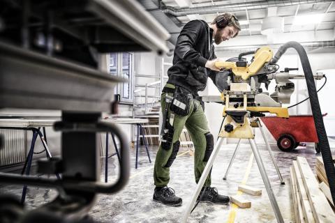Fristads lanserar hantverkarbyxor i sweatshirtmaterial