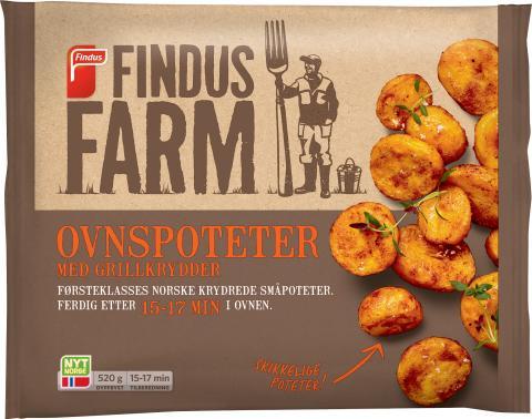 Ny potetserie: Findus Farm