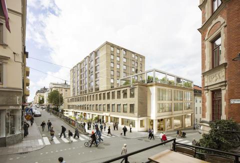 S:t Paul –  nya kontor, butiker och restauranger i Götgatsbacken