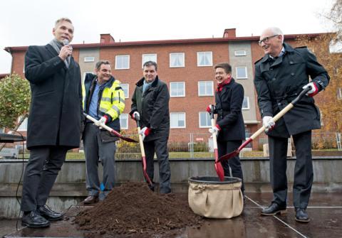 Nu startar bygget av Göteborgs mest hållbara och innovativa bostadskvarter