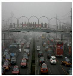 Smog orsak till inställda flyg