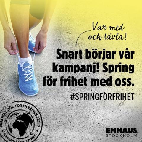#Springförfrihet