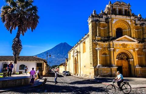 Januari - Antigua, Guatemala