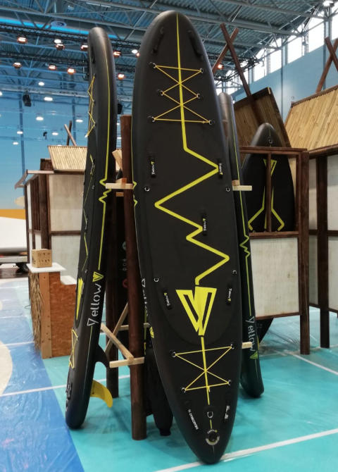Hi-res image - VETUS - The YellowV line up of inflatable SUPs
