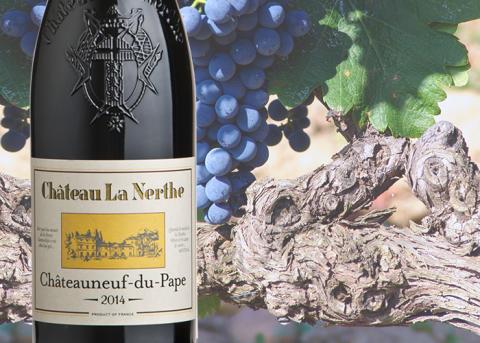 Exklusiv lansering av Châteauneuf-du-Pape från ekologiska Château La Nerthe