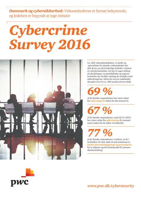 PwC's Cybercrime Survey 2016