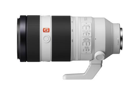 Sony élargit sa gamme d'objectifs phare G Master™ avec le nouveau super téléobjectif 100 – 400 mm à monture E