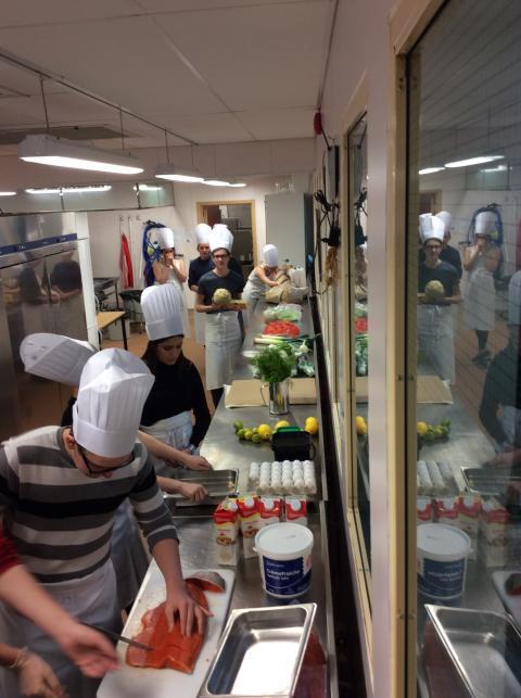 Erlaskolan i Falun är med i Kockduellen