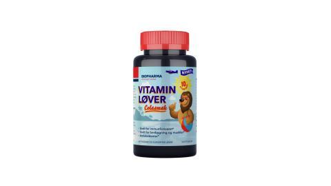 Vitaminløver med colasmak