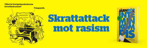 Skrattattack mot rasism i ny bok