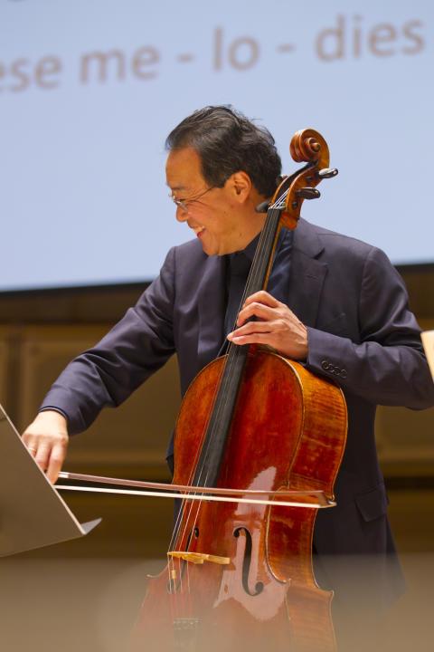 Yo-Yo Ma i Polarpriskonsert