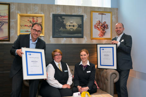 Frisch gebackene IHK Meeting Manager bei Mercure Hotels  in Hannover
