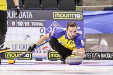 Curling-EM: Lag Edin utklassade Schweiz i toppmötet