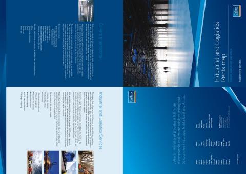 Colliers EMEA Industrial and Logistics rents map våren 2012